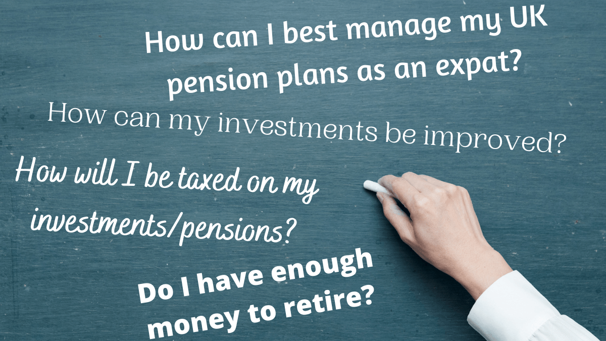 Expat pension questions